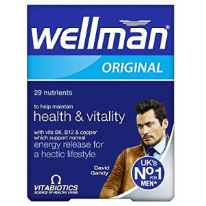 Wellman Original with vitamin B 6 & B 12 For men of all ages 30 capsules