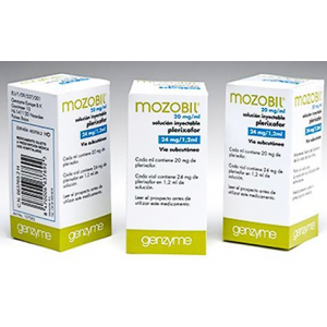 Mozobil 20 mg / ml ( plerixafor )  solution for injection