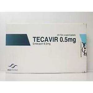 TECAVIR 0.5 mg ( Entecavir ) filmed-coated tablets