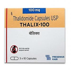 Thalix 100 mg Capsule ( Thalidomide ) 30 capsules