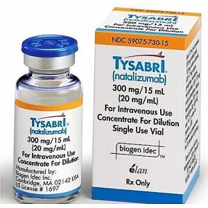 TYSABRI 300 mg ( natalizumab ) solution for infusion
