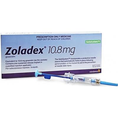 Zoladex  depot 10.8 mg ( goserelin ) prefilled syringe