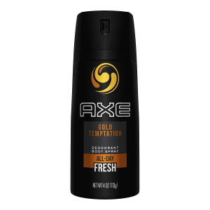AXE GOLD TEMPTATION BODY SPRAY 150 ML