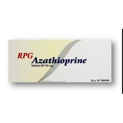 Azathioprine RPG 50 mg ( Azathioprine ) 100 tablets