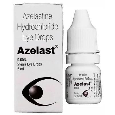 Azelast 0.05 % eye drops ( Azelastine ) 5 ml