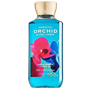 Bath & Body Works MOROCCO ORCHID & PINK AMBER with Shea & Vitamin E Shower Gel 88 ml / 3 fl oz
