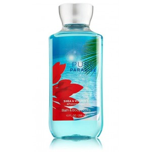 Bath & Body Works PURE PARADISE Shea & Vitamin E Shower Gel 88 ml / 3 fl oz
