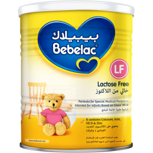 Bebelac LF Lactose Free Special Formula 0-6 months 400 gm