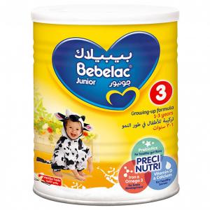 Bebelac Junior 3 Growing Up Formula 1-3 Years 400 gm