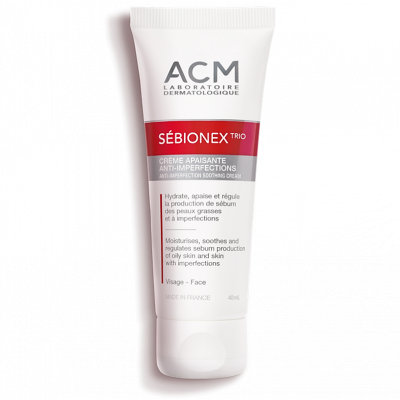 ACM SEBIONEX TRIO CREAM ANTI-IMPERFECTION SOOTHING CREAM 40ml