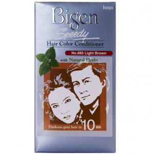 Bigen Speedy Hair Color Conditioner no. 885 Light Brown With Natural Herbs
