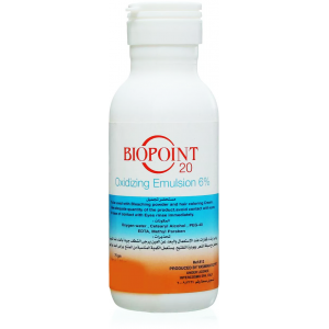 BIOPOINT 20 Oxidizing Emulsion 6% 75 gm