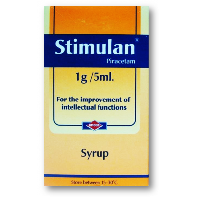 Stimulan 200 mg / ml ( Piracetam ) 120 ml syrup
