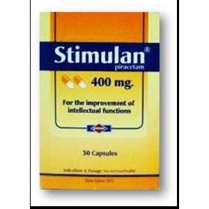 Stimulan 400 mg ( Piracetam ) 30 capsules
