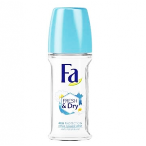 Fa Fresh & Dry 48 hr Dry Lotus Flower Antiperspirant Roll On 50 ml
