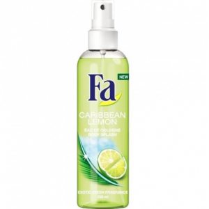 Fa Caribbean Lemon Eau De Cologne Exotic Fresh Fragrance 250 ml