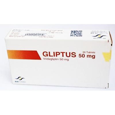 GLIPTUS ( Vidagliptin 50 mg ) 30 tablets