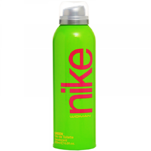 Nike Woman Green Eau De Toilette Deodorant 200 ml