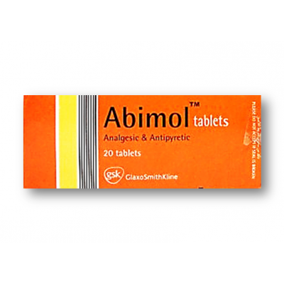 ABIMOL 500 MG ( PARACETAMOL ) 20 TABLETS