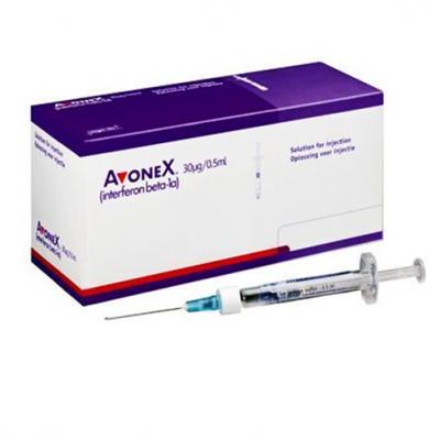AVONEX 30 mcg  ( Interferon Beta-1a ) 4 Syringes