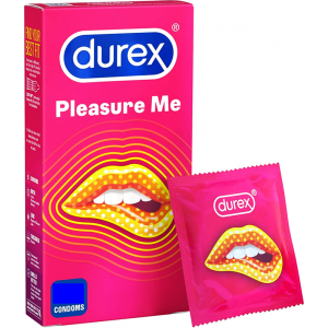 Durex Pleasure Me Ribbed & Dotted Condoms 3 Pack