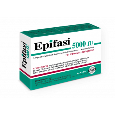 EPIFASI 5000 IU ( Human Chorionic Gonadotrophin ) Ampoule