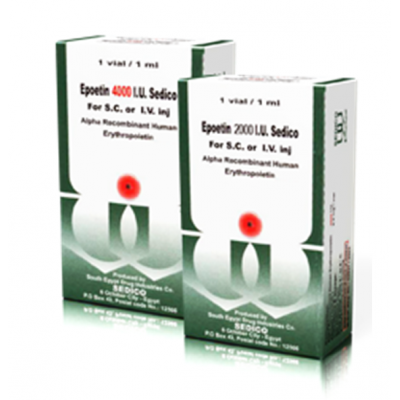 Epoetin 2000 I.U. ( Recombinant Erythropoietin ) Vial