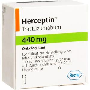 Herceptin 440 mg ( Trastuzumab ) IV Infusion Vial