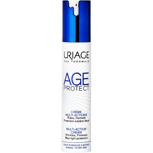 URIAGE AGE PROTECT MULTI-ACTION CREAM WRINKLES FIRMNESS BLUE LIGHT PROTECTION 40 ML