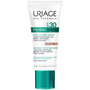 URIAGE HYSEAC 3-REGUL TINTED GLOBAL SKIN CARE SPF30 40 ML