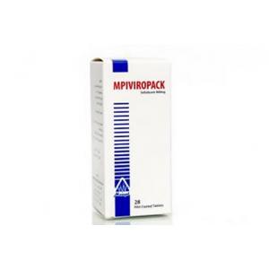 MPIVIROPACK / MPI VIROPACK 400 mg ( sofosbuvir ) 28 tablets