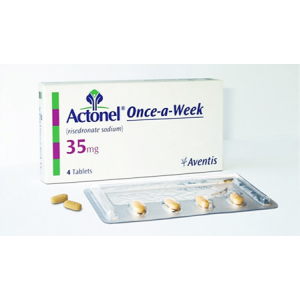 Actonel Once a Week 35 mg ( risedronate sodium ) 2 film-coated tablets