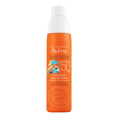 Avene Eau Thermale  Sunscreen Spray For Children  Very High protection SPF 50+ 200 mL