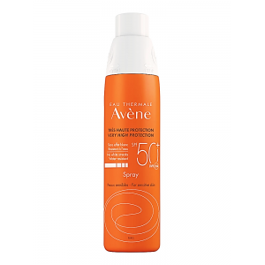 Avene Eau Thermale  Sunscreen Spray  Very High protection SPF 50+ 200 mL