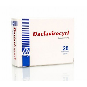 Daclavirocyrl 60 mg ( Daclatasvir 60 mg ) 28 film-coated tablets
