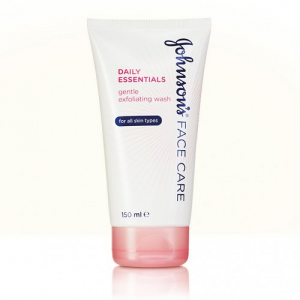 Johnson's Face Care Daily Essentials  Gentle Exfoliating Wash  For All Skin Types  150 mL