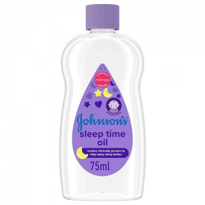 Johnson's Baby Sleep Time Oil 75 ml  Routine Clinically Proven To Help Baby sleep better