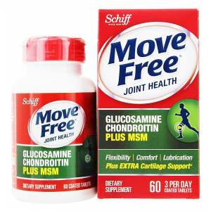 Move Free Joint Health Advanced  Plus MSM with Glucosamine + Chondroitin  120 coated tablets