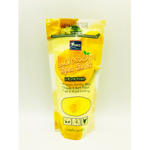 Spa Lemon Salt 300 gm  Promotes Healthy Skin  Smooth Ang Soft Touch  Light and Fresh Looking