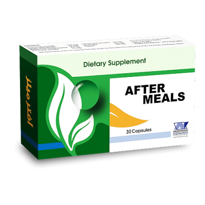 After Meals Capsules ( chamomile + Bromolain + Ginger + Anise + Peppermint + Fennel + Papain ) 30 capsules