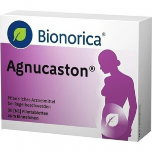 Agnucaston ® 20 mg ( Dry Extract of the Fruit of the Chaste Tree )  30 Film-coated tablets