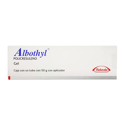 Albothyl 1.8 % Vaginal Gel / Jelly ( Polycresulene ) 40 gm