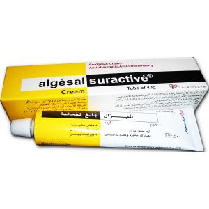 Algesal ® Suractive Cream ( Diethylamine + Myrtecaine + Salicylic Acid ) 40 gm