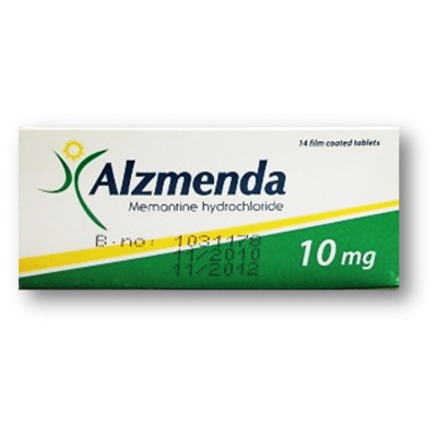Alzmenda 10 mg ( Memantine ) 21 film-coated tablets