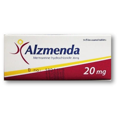 Alzmenda 20 mg ( Memantine ) 28 film-coated tablets