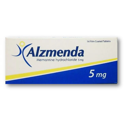 Alzmenda 5 mg ( Memantine ) 14 film-coated tablets