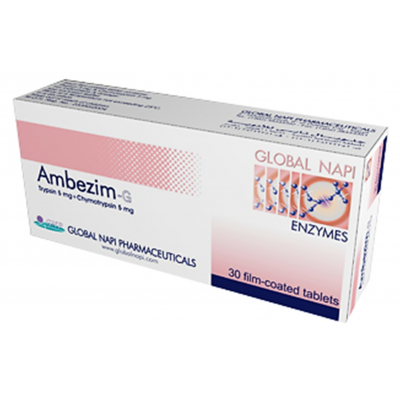 Ambezim - G tablets ( trypsin + chymotrypsin ) 30 tablets