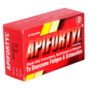 Apifortyl Capsules ( Vitamins + Minerals ) 30 capsules