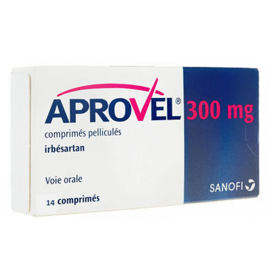 Aprovel 300 mg ( Irbesartan ) 14 tablets