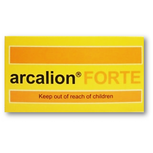 Arcalion Forte 400 mg ( Sulbutiamine ) 30 film-coated tablets